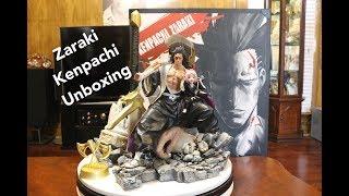 Bleach, Axe Studio Zaraki Kenpachi Bankai Resin Statue Unboxing.