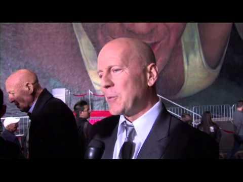 Die Hard Interview Bruce Willis Mural