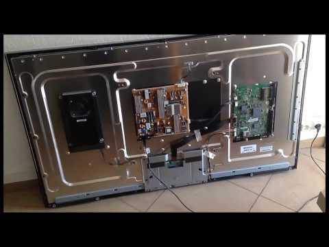 dépannage tv led Samsung UE55C6000RW