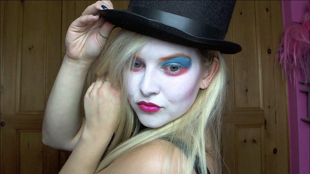 Halloween: Mad Hatter Female Make Up Tutorial - YouTube