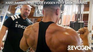 Hany Rambod and Team Evogen FST-7 Back Training at Metroflex