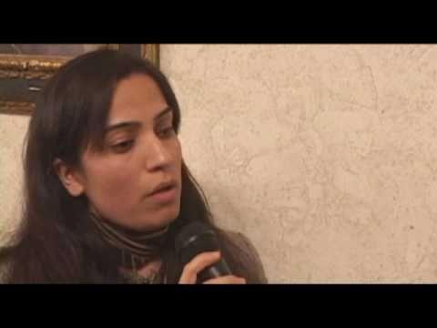 Malalai Joya - Interview by Cindy Sheehan (1 of 2)