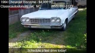 1964 Chevrolet Biscayne  for sale in Nationwide, NC 27603 at #VNclassics