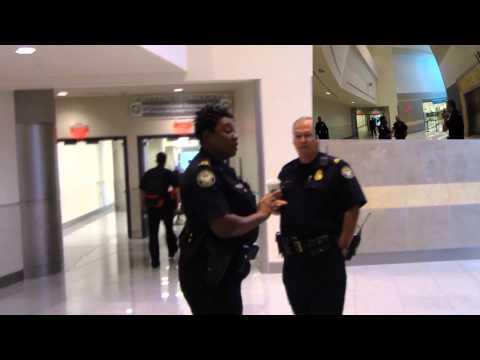 First Amendment Test ATL TSA Checkpoint First Run