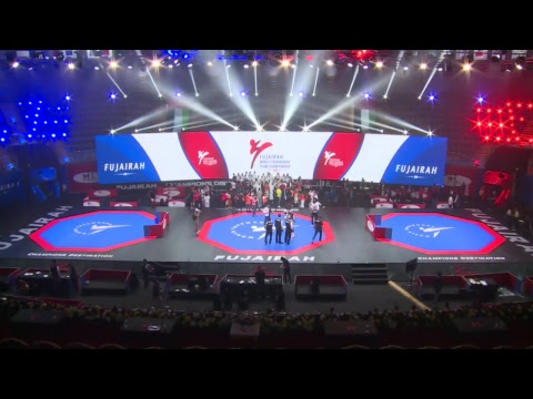 Day 2 Live Stream of Fujairah World Taekwondo Team Championships