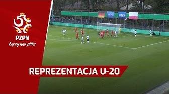 U-20: Skrót meczu Niemcy - Polska (3:4)