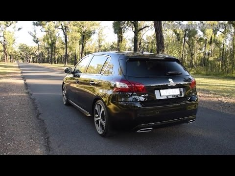 2015 Peugeot 308 Gt 16t 0 100kmh Engine Sound Youtube