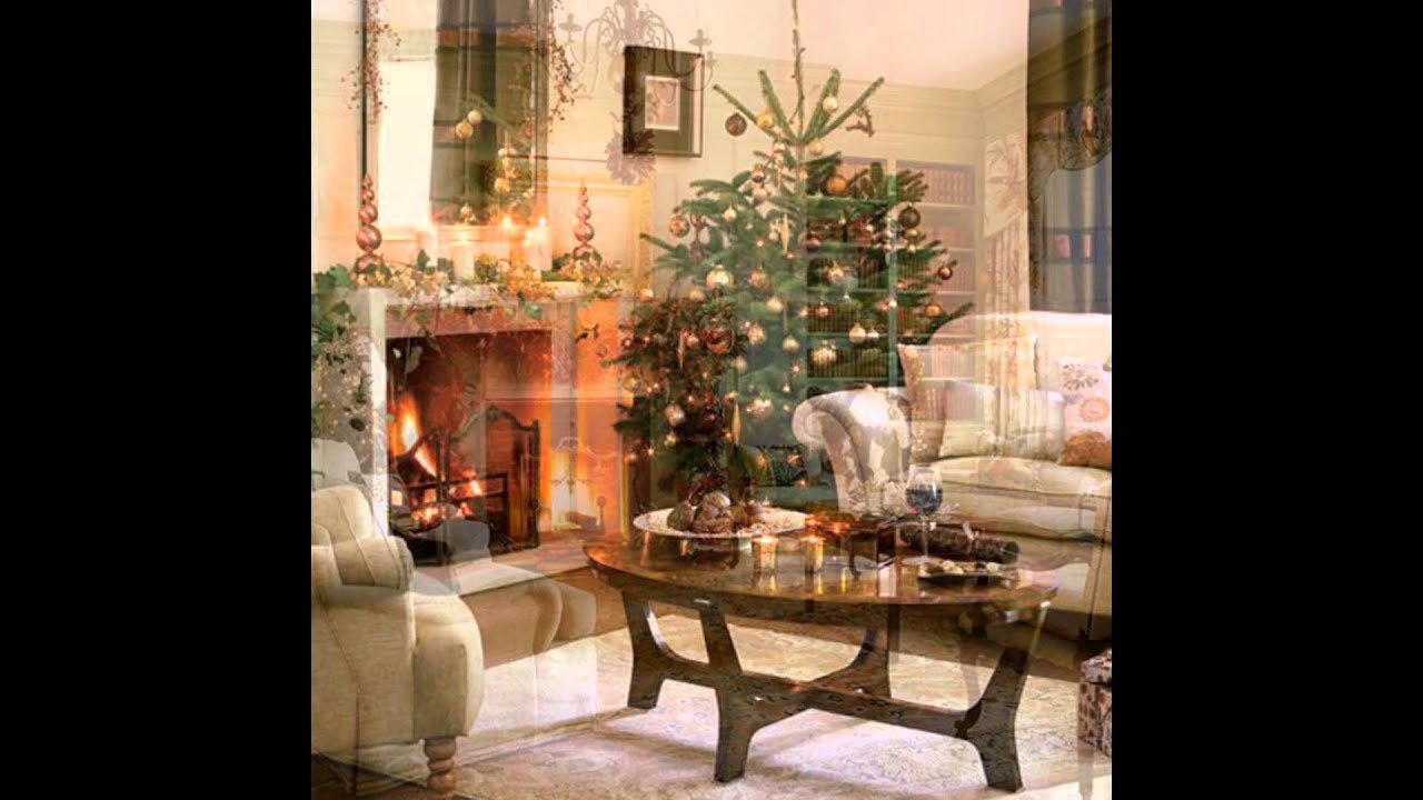 simple ways to decorate a living room for christmas - Simple Ways To Decorate Your House For Christmas