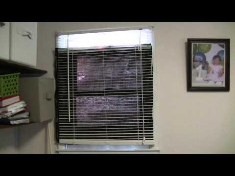 Super Cheap Window Heater, Free Energy