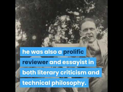 Biography of T S Eliot