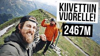 Kiipesin vuorelle ensimmäistä kertaa! - Itävalta