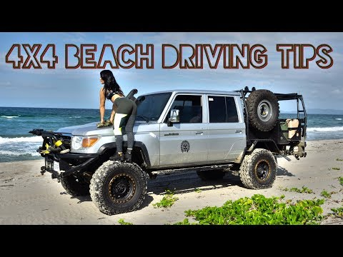 4x4 Tips: How to Drive On The Beach or In Heavy Sand