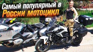 Мотоцикл на автомате: Honda NC 750 X обзор покатушки (тест от Ксю) /Roademotional