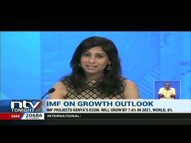 IMF says Kenya's economy contracted in 2020