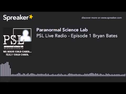 PSL Live Radio - Episode 1 Bryan Bates