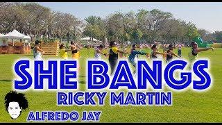 She Bangs | Ricky MArtin | Zumba® | Alfredo Jay