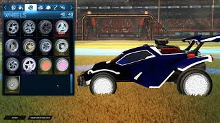 BUILDING MY DREAM CAR IN ROCKET LEAGUE! (315+ KEYS!)