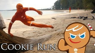 Cookie Run in REAL LIFE! คุก�...