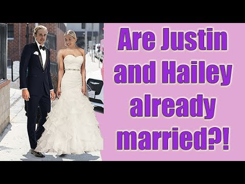 """EXCLUSIVE - Did Justin Bieber And Hailey Baldwin Just Get Married?! He Told Us """"Not Soon!"""""""