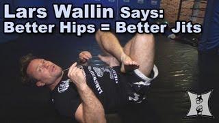 Wallin MMA's Technique: Lars Wallin Teaches Hip Stretching Drills For Better Jiu Jitsu