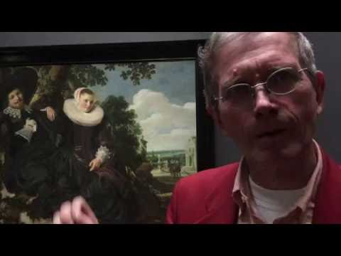 Art historian Kees Kaldenbach introduces Wedding portrait by Frans Hals