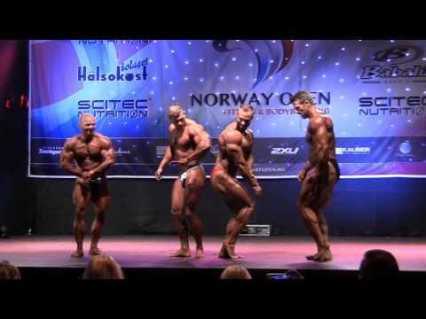 Norway Open 2014   Overall Men's Bodybuilding