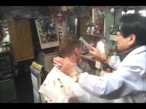 Koreńaski fryzjer i jego sposoby! Korean hairdresser and his methods!