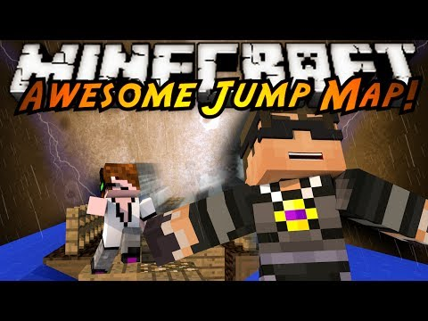 Minecraft: Awesome Jump Map Part 1!