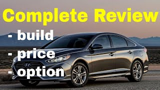 2018 Hyundai Sonata - Build & Price Review (3 of 5 Best Cars for Driving with Uber or Lyft )