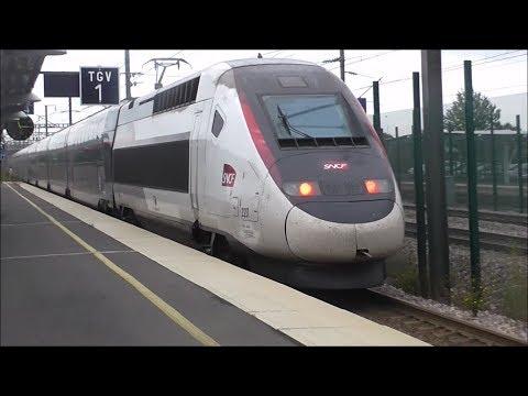 SNCF TGV Duplex Ride: Lille Europe to TGV Haute Picardie - 06/09/17
