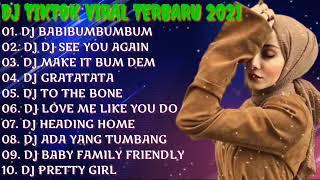DJ TIKTOK SLOW REMIX TERBARU 2021 BABIBUMBUMBUM - DJ SEE YOU AGAIN • DJ TIK TOK TERBARU 2021