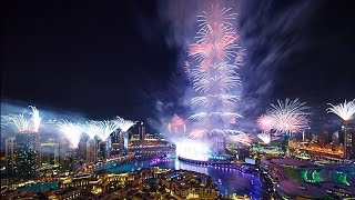 DUBAI FIREWORKS 2014 DUBAI NEW YEARS EVE PARTY ( ULTIMATE ! )