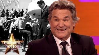 Kurt Russell Kicked Elvis Presley In The Shin! | The Graham Norton Show