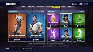 *NEW* LLAMA BELL EMOTE! DAILY ITEM SHOP TODAY! SKINS RESET! FORTNITE BATTLE ROYALE (20/08/2018)