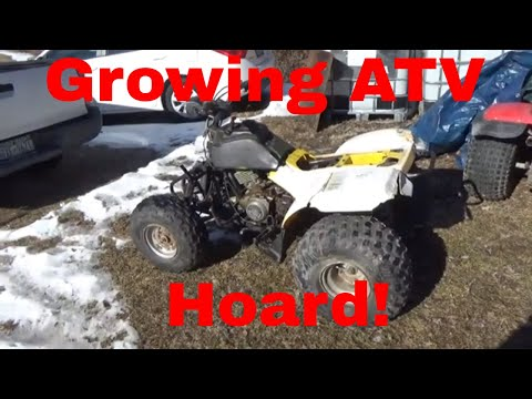 Suzuki Quad Runner LT160, An Ugly ATV Joins the Collection!