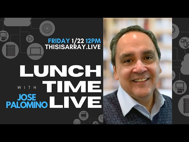 Jose Palomino - Lunchtime Live