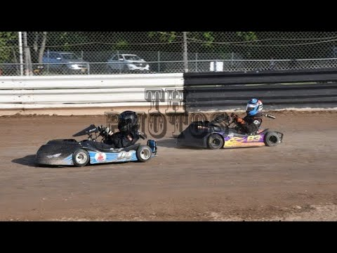 Kart Racing at Limerock Speedway 6/29/19