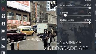 VIDEOGRADE app Tutorial FiLMiC Pro v6 LOG iPhone Cinematic