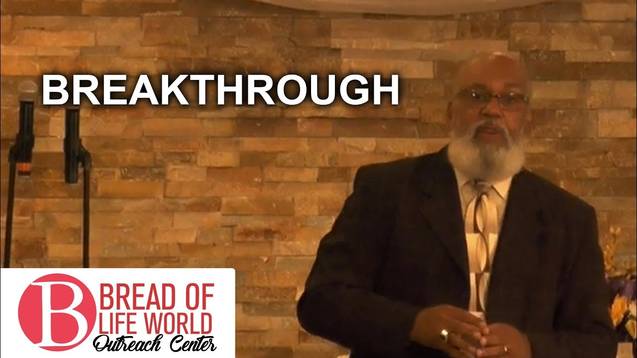 Breakthrough   Apostle Randy Brown