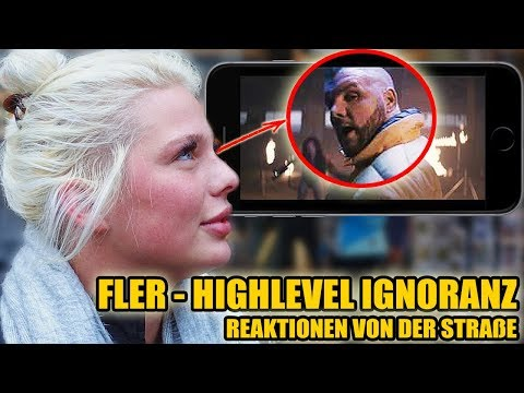 FLER – HIGHLEVEL IGNORANZ || LIVE REAKTIONEN VON DER STRAßE 😱 - Leon Lovelock