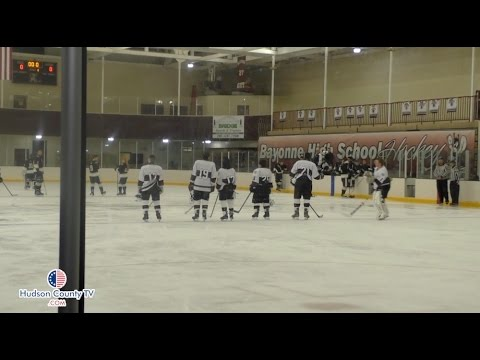 Bayonne High school hosts a re-dedication ceremony for the opening of Korpi Ice Rink