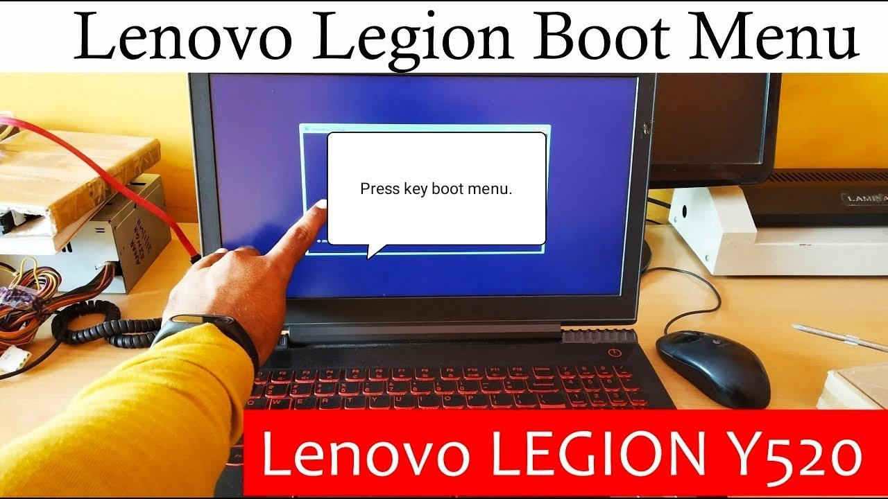 Lenovo Boot Menu Legion Y520