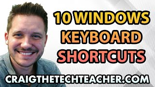 10 Essential Windows 8.1 Keyboard Shortcuts