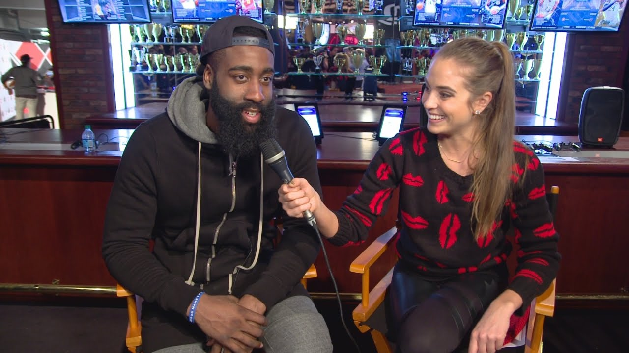 9587761cccf3 NBA 2KTV – Episode 19 James Harden Talks About His 95 Overall Rating ...