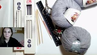 Вязание варежек cпицами - пряжа и инструменты. Готовимся к интенсиву.