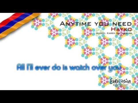 "Hayko - ""Anytime You Need"" (Armenia) - [Instrumental version]"