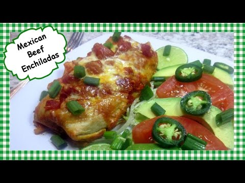 Mexican Beef Enchilada Recipe