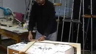 How To Build A Fine Art Canvas Stretcher For Gallery Painting Display  Part 5 Of 8