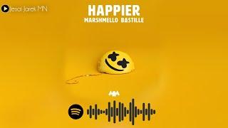 Marshmello ‒ Happier ft. BASTILLE