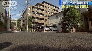 東京・西日暮里の住宅上昇率が1位 基準地価公表(18/09/18)